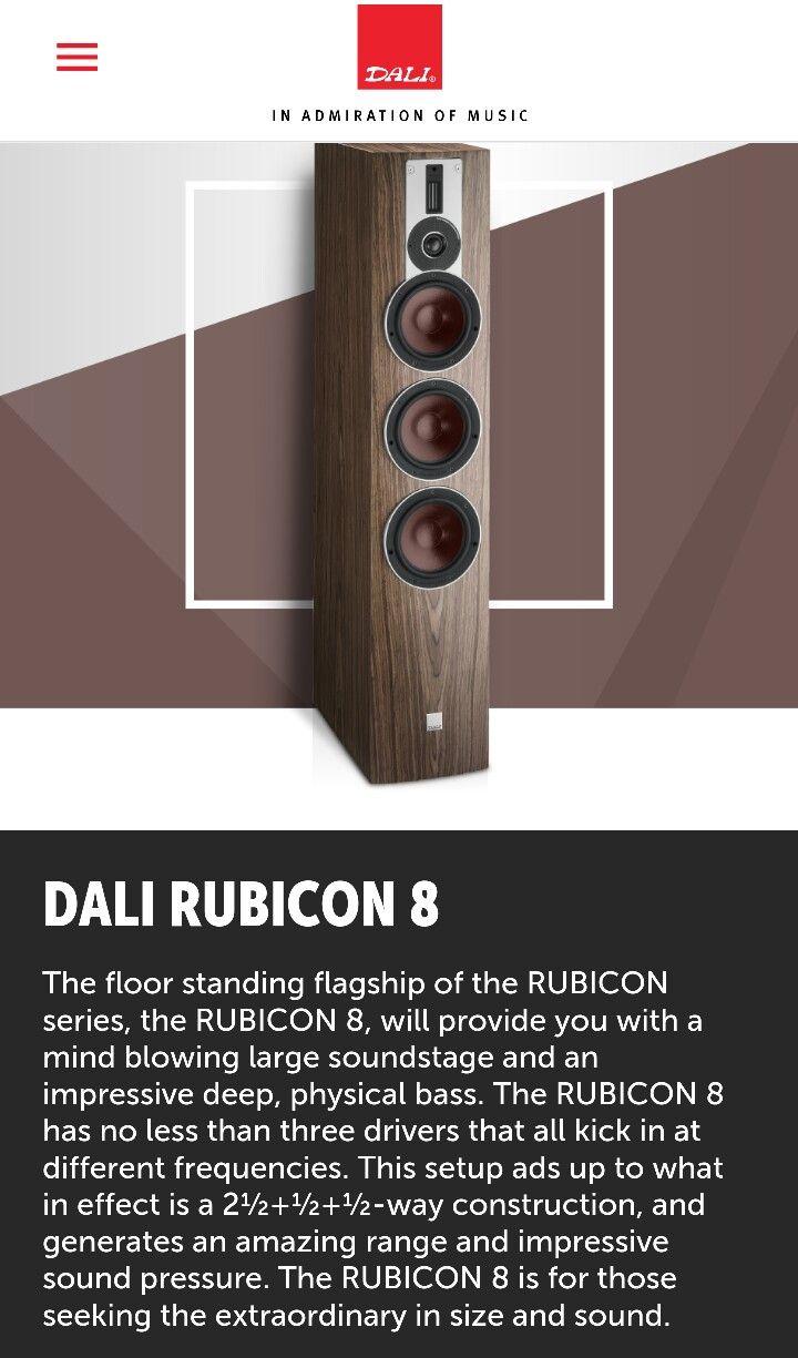 DALI RUBICON 8