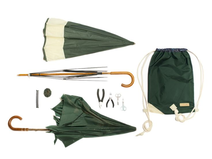 LAPLOE: from a ditched umbrella to a bag! project video thumbnail
