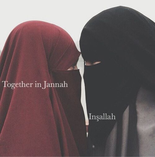 Image De Friendship Hijab And Islam Pinterest Islam Friendship And Niqab