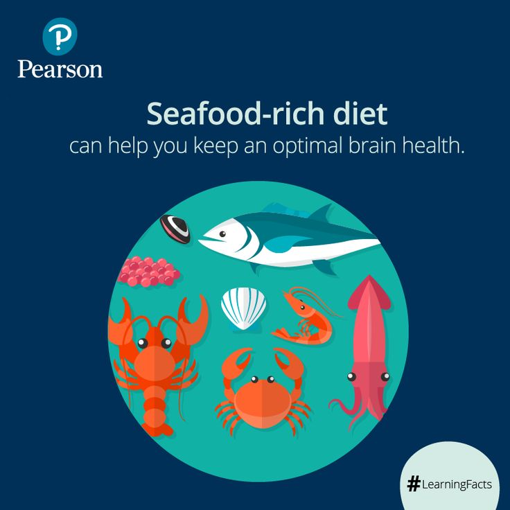 Apart from all the mind exercises, eating healthy is extremely important to boost memory. According to a study, fatty acid present in seafood can help improve your memory function by about 15%.    #LearningFacts