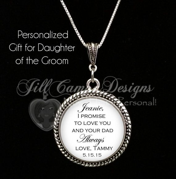 Daughter of the Groom gift from Bride I by NowThatsPersonal