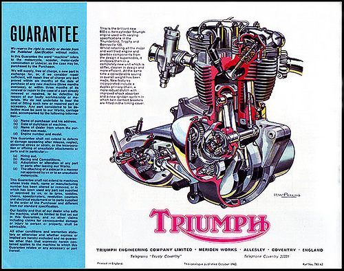 Triumph motorcycle engines posted by geordie biker at 8 50 pm Triumph Bonneville Turn Signal triumph bonneville t140 engine diagram Triumph Bonneville Motor