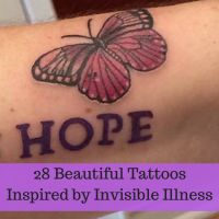 28 Beautiful Tattoos Inspired by Invisible Illness