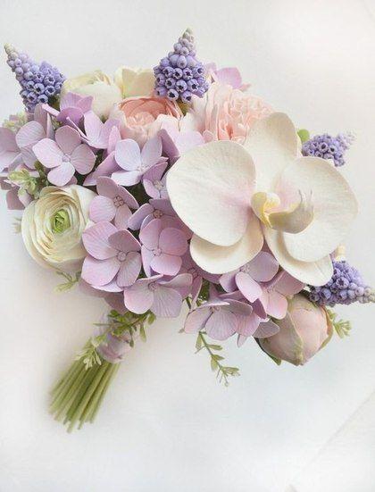 """Букеты ручной работы. Ярмарка Мастеров - ручная работа Букет невесты """"Версаль"""" с цветами из полимерной глины. Handmade."""
