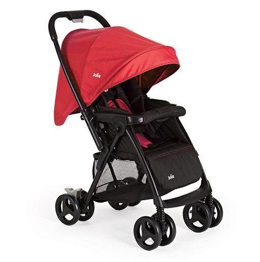 Joie Mirus Stoller - Lady Bird    Joie Mirus stroller sidekick designed and engineered to grow with your child from newborn on. The handy reversible push bar lets baby look both ways.