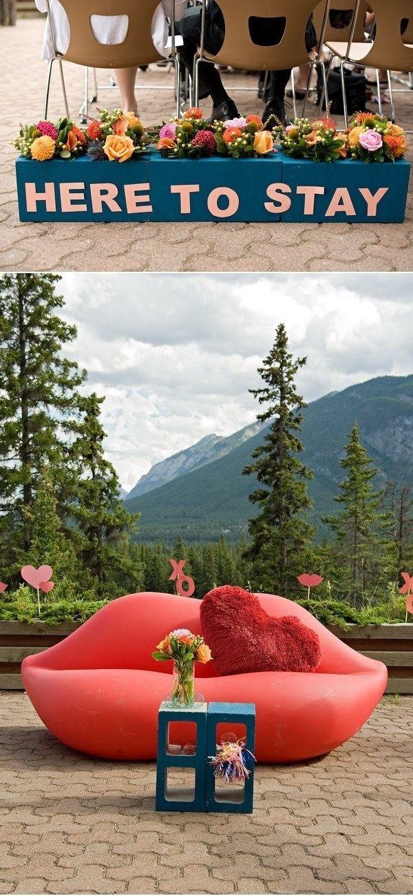 Pinte suas cinderblocks e usá-los como uma mesa de café ao ar livre ou caixa de flor. | 41 Cheap And Easy Backyard DIYs You Must Do This Summer