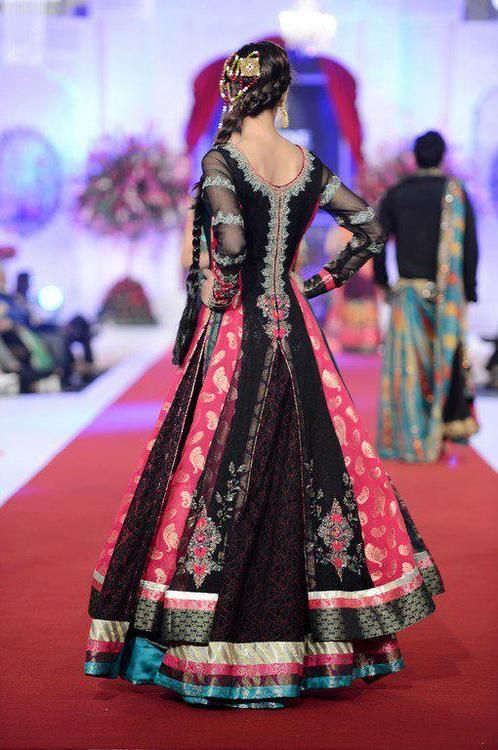 Beautiful Anarkali outfit