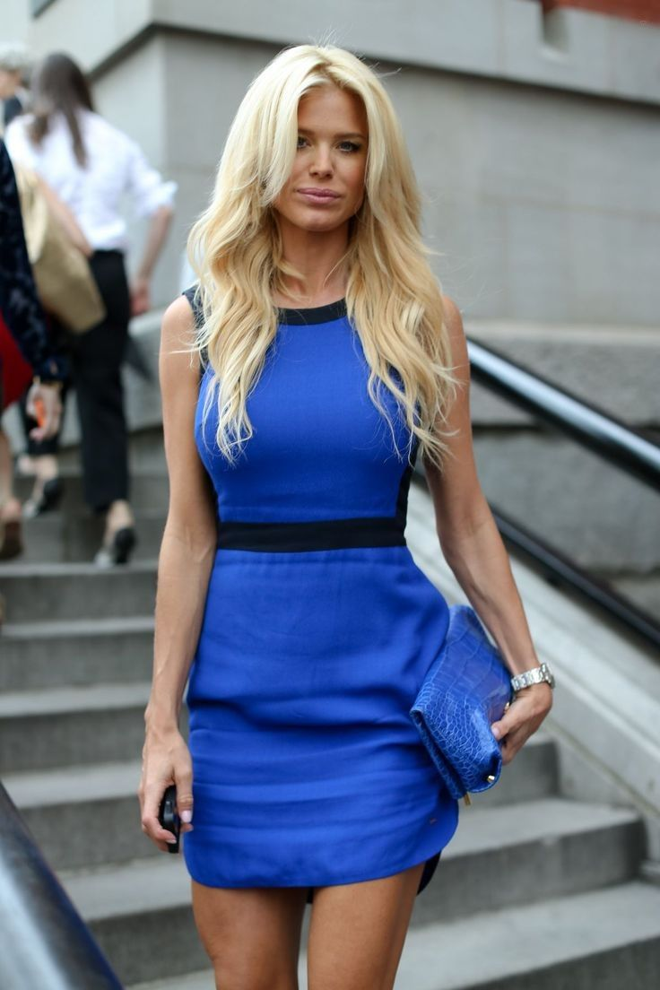 Victoria Silvstedt.. NYFW..... - Celebrity Fashion Trends