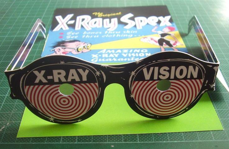 Lentes De Rayos Equis (juguete) X ray Spex (toy) #RaySpex