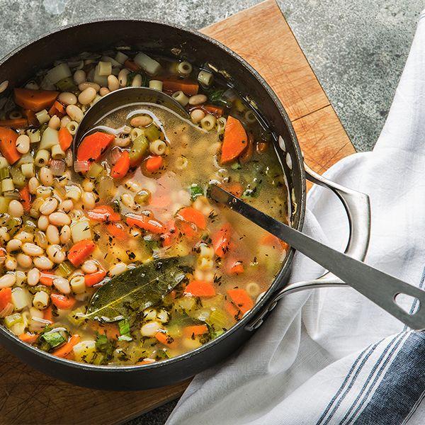 Great Northern Bean Vegetable Soup?omit bay leaf