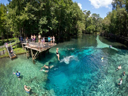 Blue Springs Park, Gilchrist county, Florida