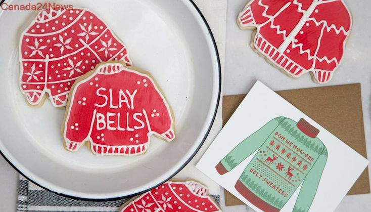 Ugly sweater cookies will make your holidays jolly