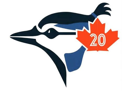 Josh Donaldson's man bun in a re-imagined Blue Jays Logo by Tim Spencer