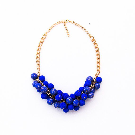 Fashion statement necklace / handmade necklace made in Greece