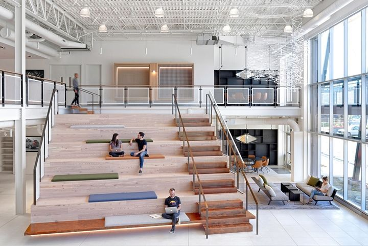 Uber Advanced Technologies Group Office by Assembly Design, Pittsburgh – Pennsylvania » Retail Design Blog