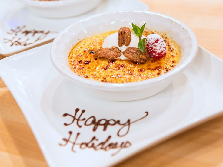 Get this all-star, easy-to-follow Three Spice Creme Brulee recipe from Holiday Baking Championship.