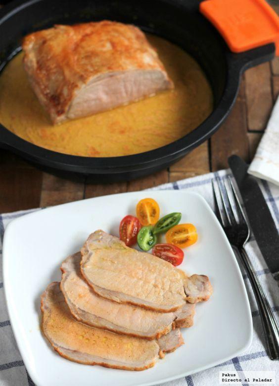 Hoy vamos a preparar una receta sencilla que os vendrá muy bien cuando os apetezca cocinar algo diferente ya que esta receta de lomo de cerdo asado con leche...