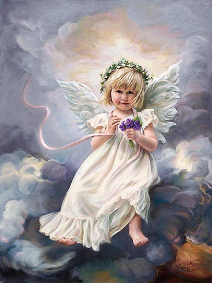 милые ангелята картинки море счастья