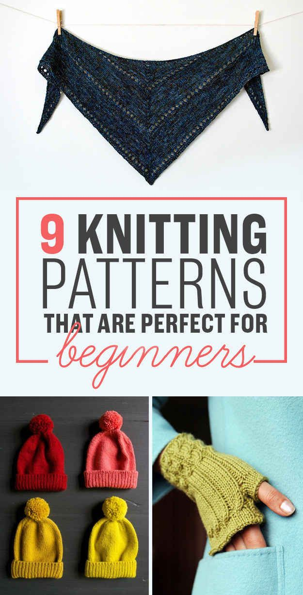 9 Delightful Knitting Patterns You Should Try Right Now - I like the shawl and the blanket