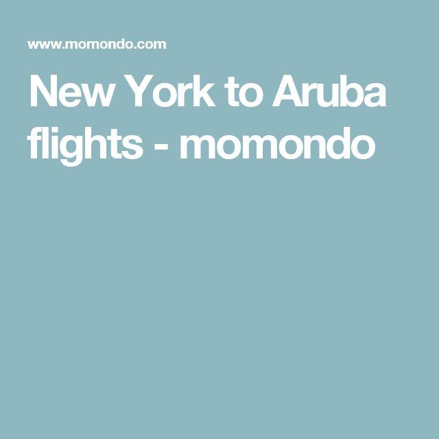 New York to Aruba flights - momondo