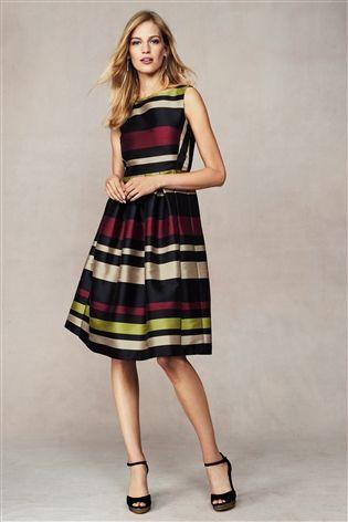 Buy Multi Stripe Prom Dress from the Next UK online shop