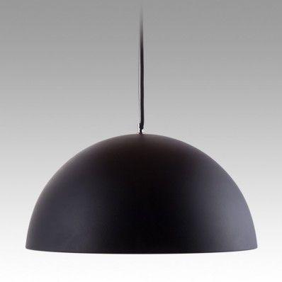 Dome Pendant - Round 500 (black/gold)