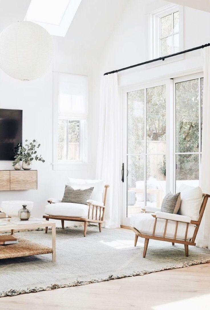 Modern Minimalist Living Room Area Rugs In Living Room Neutral Modern Decor Living Primit In 2020 Living Room Decor Neutral Neutral Living Room Living Room Designs