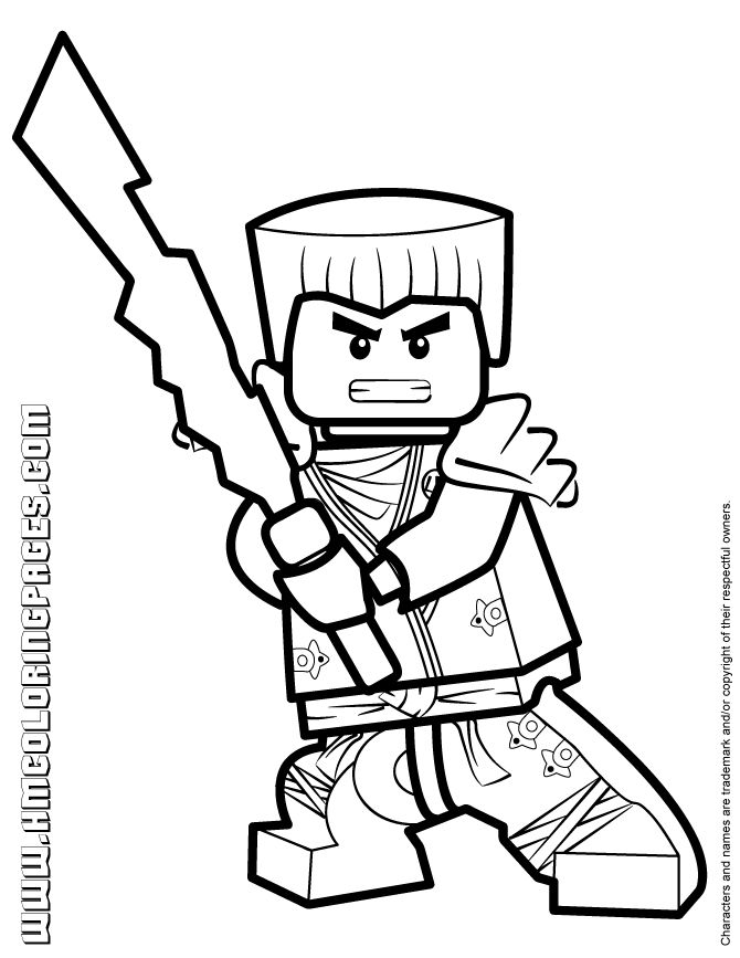 13 best LEGO Ninjago Coloring Pages