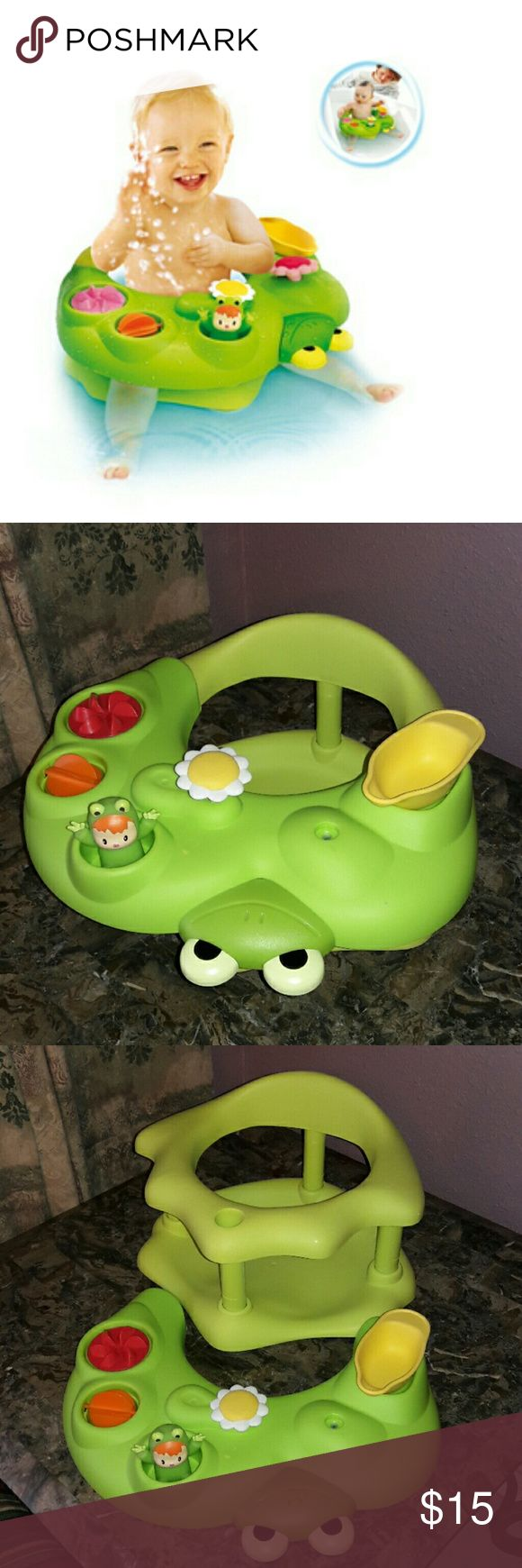 Smoby Baby Bath Seat. In good used condition. Smoby Other