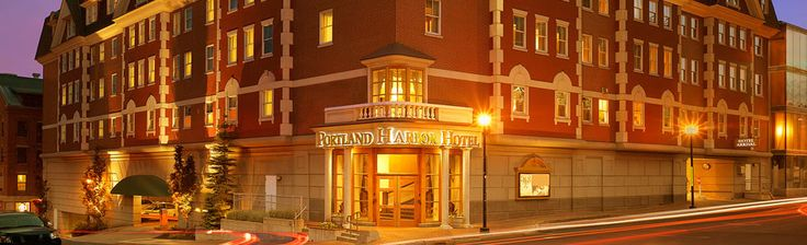 Just love this hotel -Portland Harbor Hotel Portland Maine Hotel | Hotel Near the Old Port