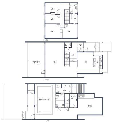 Myydään Rivitalo Yli 5 huonetta - Helsinki Lauttasaari Hakolahdentie 36 - Etuovi.com 9539013