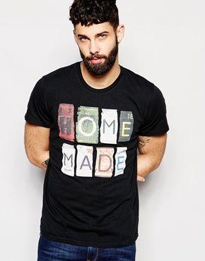 Camiseta con estampado Home Made Plates de Wrangler