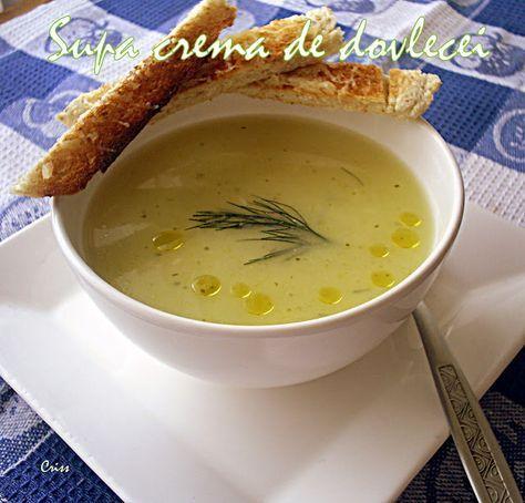 Arome si culori : Supa crema de dovlecei