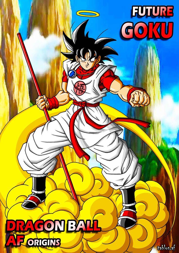 Dbaf Origins Future Goku Dragon Ball Super Manga Goku Dragon Ball