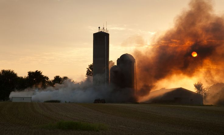 Having a set of fire evacuation procedures in case of disaster on the farm can make the difference between life and death.