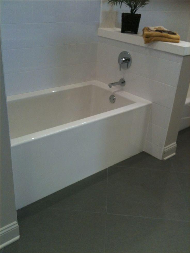 Narrow and deep tub design ideas pinterest for Narrow deep soaking tub