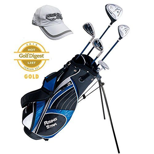 Paragon Rising Star Kids Golf Clubs Set  Ages 1113 Blue With Free Golf Gift  RightHand ** To view further for this item, visit the image link.