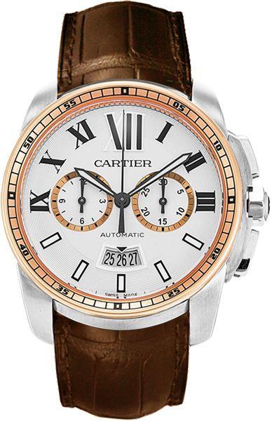 17 best ideas about cartier watches for men cartier cartier calibre de cartier chronographe automatic mens watch chain watches for men ladies watch