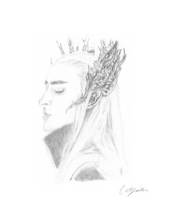 #ppt #pickingparadise Elven King Elf King Lee Pace as Thranduil Mirkwood by CatDKnits
