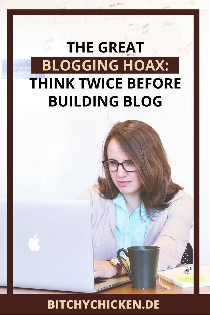 Planning to build a blog for your creative business? Learn the great blogging hoax first, before building your awesome, crazy dreams.