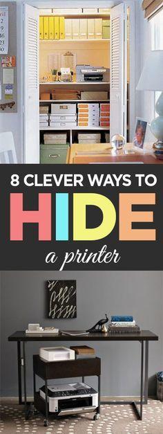 1000 Ideas About Printer Storage On Pinterest Micke