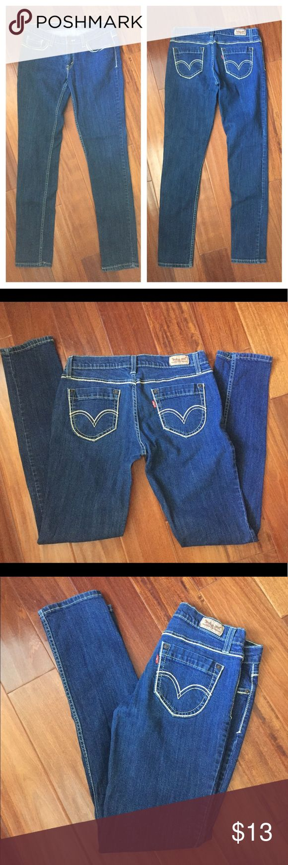 """Levi's, Skinny Jeans 👖 In perfect condition. No damage. Style- 524Too superlow. Waist 32"""" inseam 32"""". PRICE IS FIRM, you can bundle for extra savings ty levis Jeans Skinny"""
