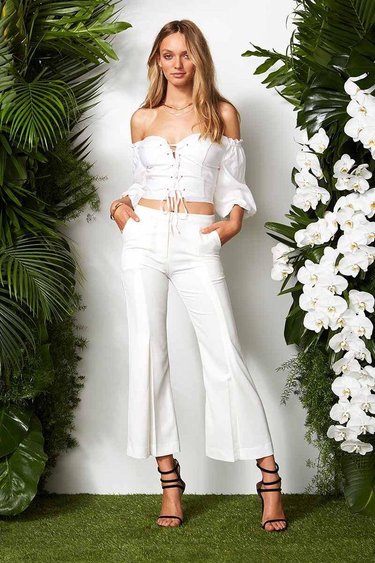 Maurie & Eve - Saint Jean Top - White