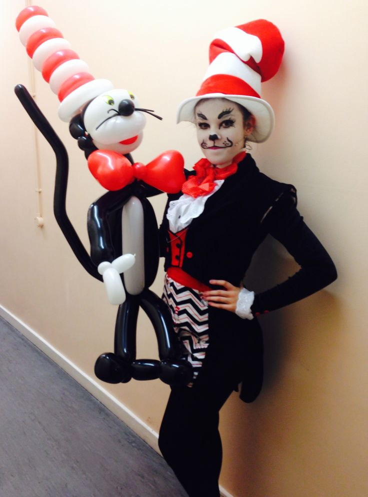 cat in the hat costume idea seussical the musical drseuss - Cat In The Hat Halloween Costume Ideas