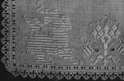 Italian Needlework: Punto Perugino - Perugian Embroidery