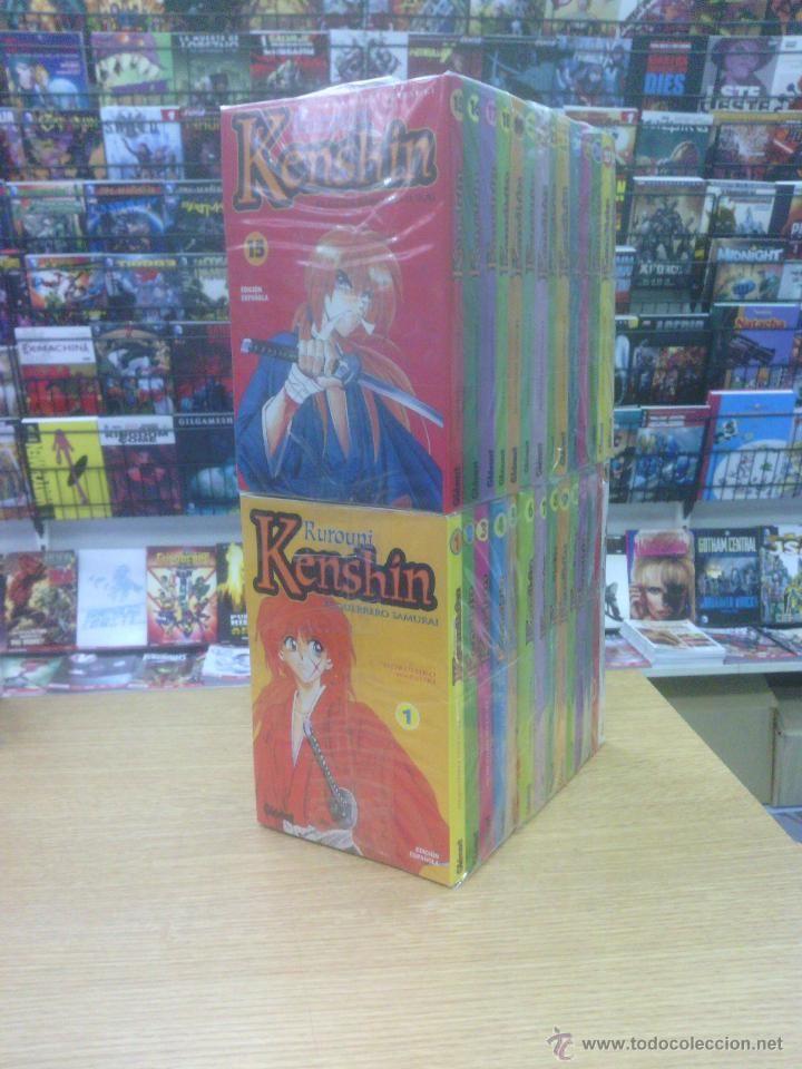 RUROUNI KENSHIN COLECCION COMPLETA (28 TOMOS) $100