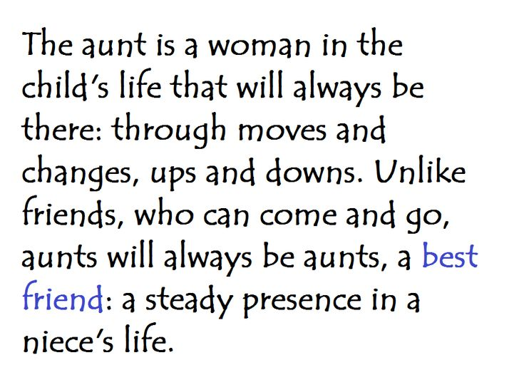 Quotes For Niece From Aunt: A Best Friend