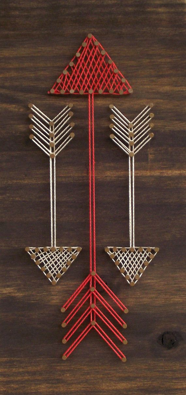 Mini Arrows String Art Sign by LoveArtSoul11 on Etsy
