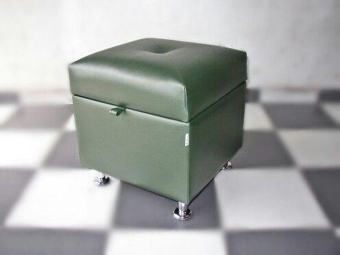 Baul Kub 4040 7 Green Mr Puff