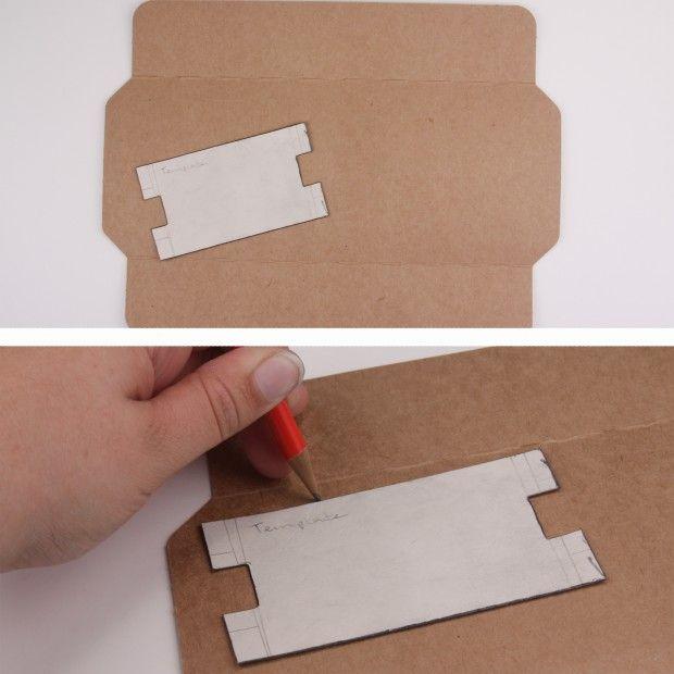 cardboard bracelet display diy